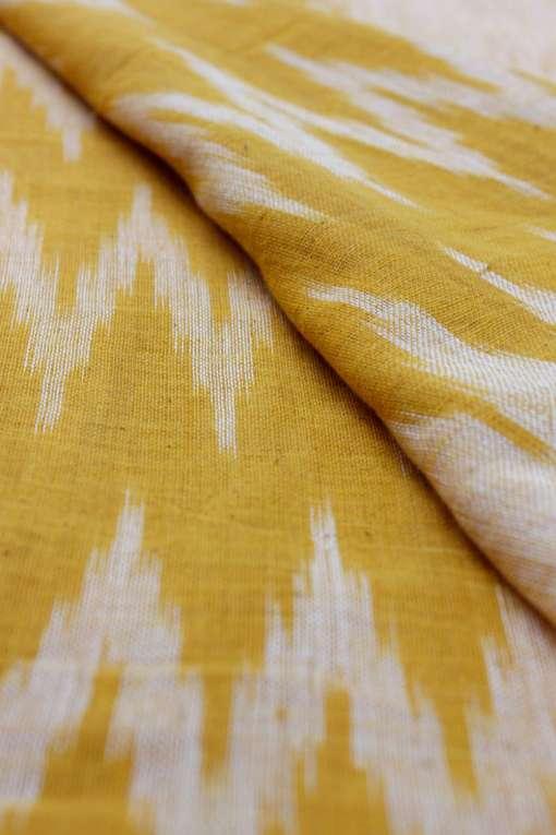 Yellow Ikkat Dupatta3