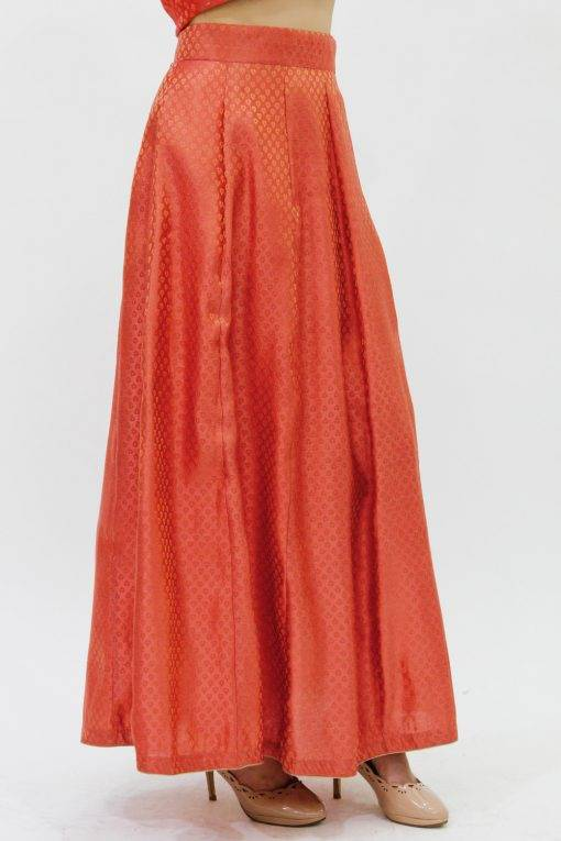 Brocade Skirt5