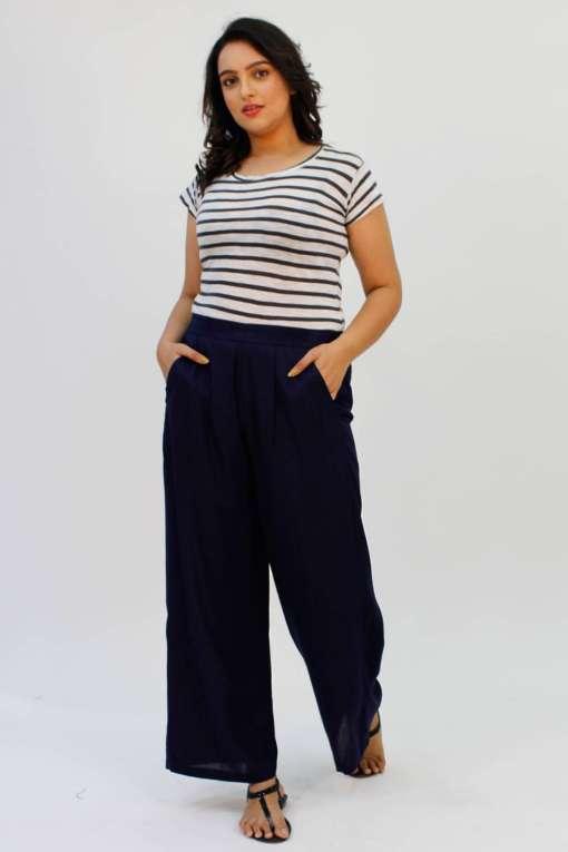 Blue Rayon Trouser2