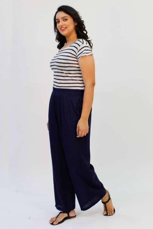 Blue Rayon Trouser3