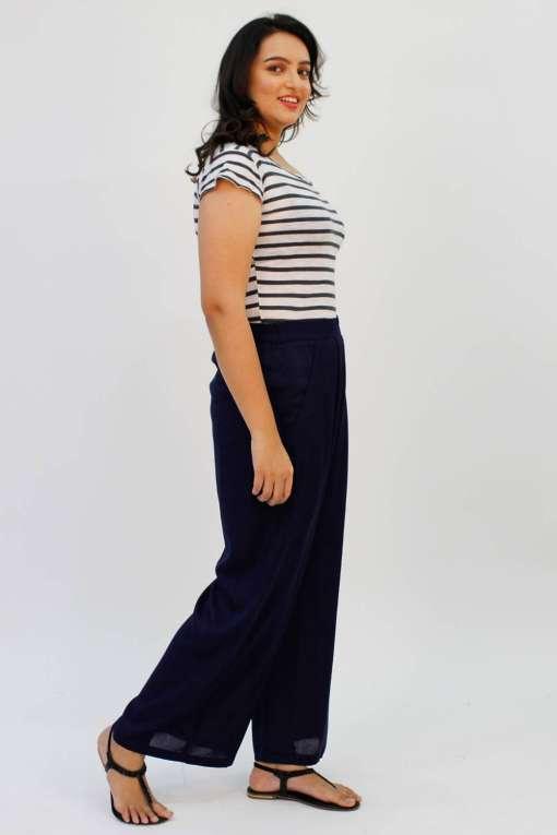 Blue Rayon Trouser4