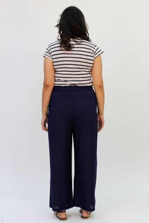 Blue Rayon Trouser5