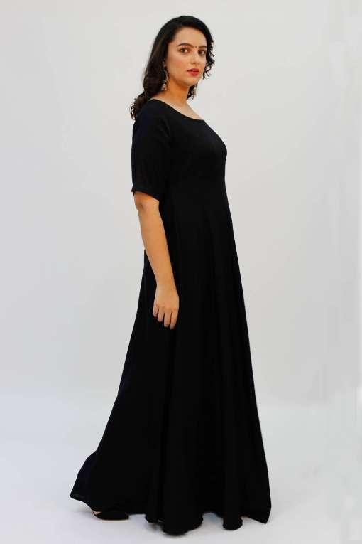 Black Anarkali1