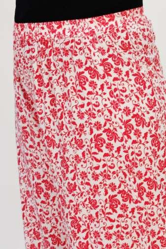 Red-White Printed Palazo7