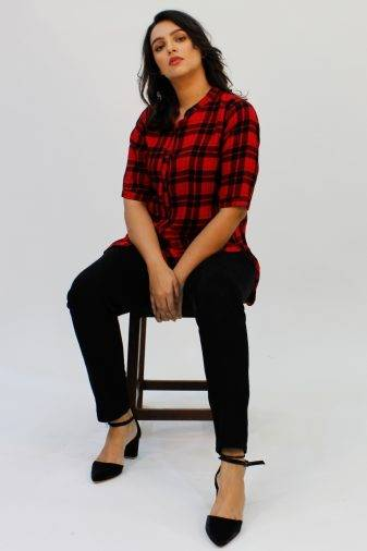 Red Check Shirt1