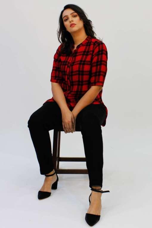 Red Check Shirt1