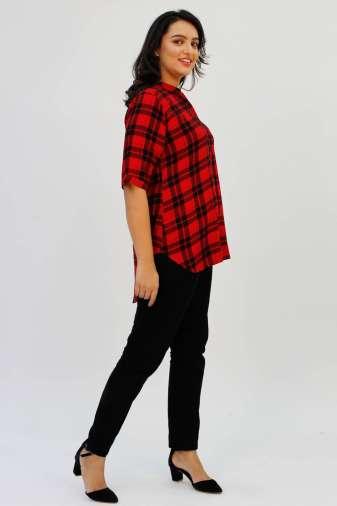 Red Check Shirt7