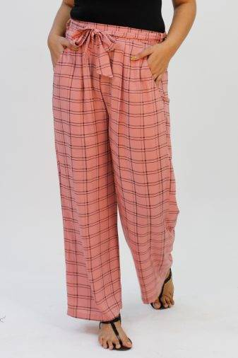 Pink Check Trouser2