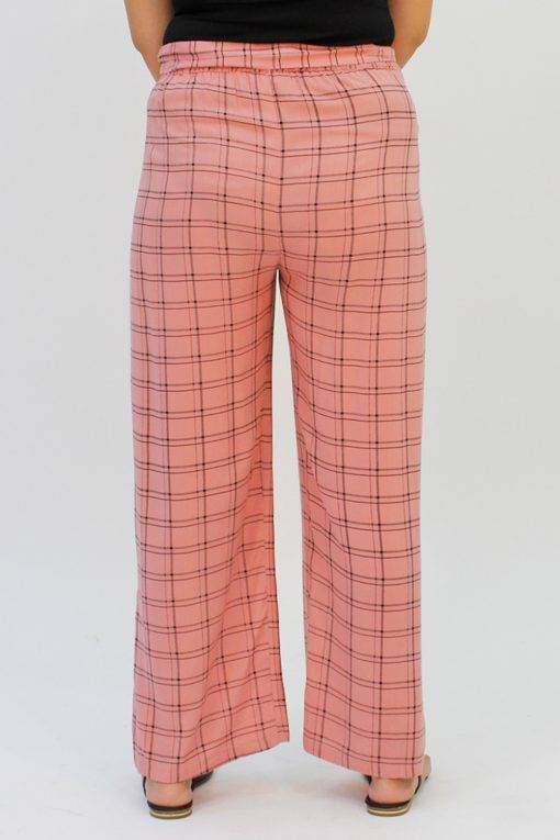 Pink Check Trouser4
