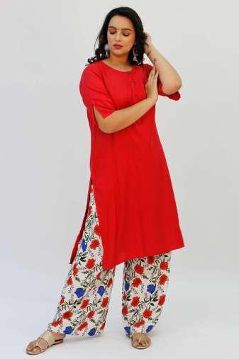 Red Kurta2