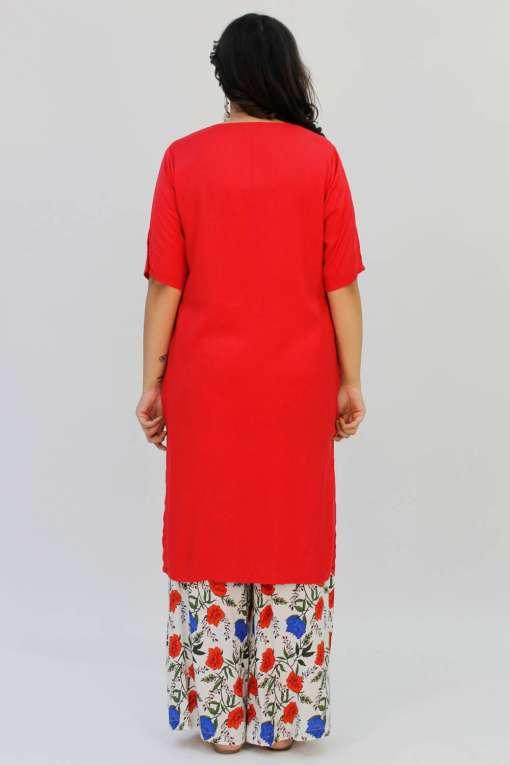 Red Kurta5