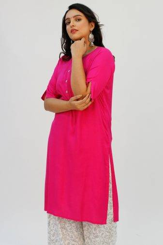 Pink Kurta1