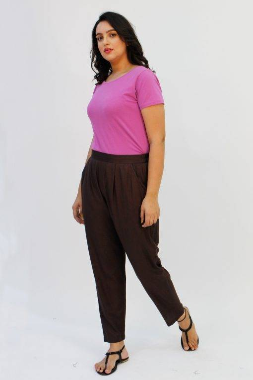 Brown Rayon Trouser2