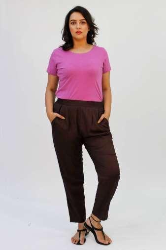 Brown Rayon Trouser3