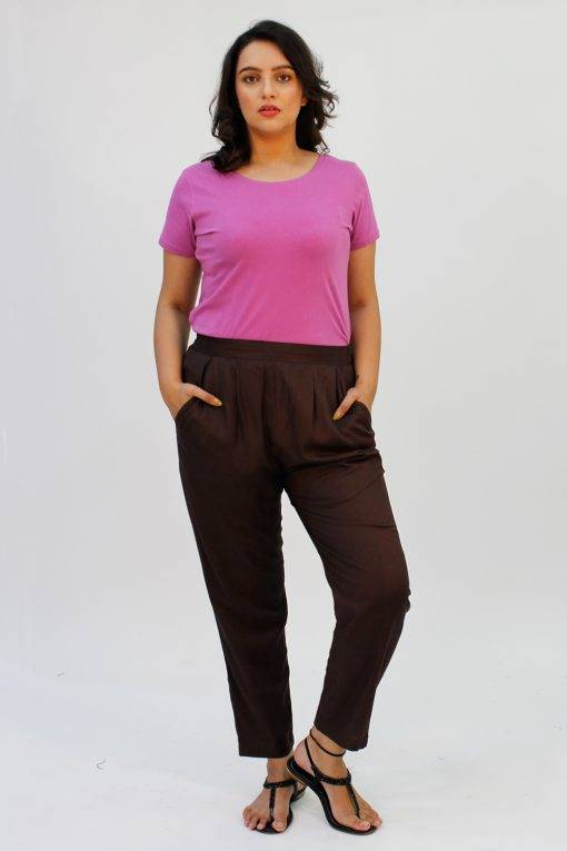 Brown Rayon Trouser3