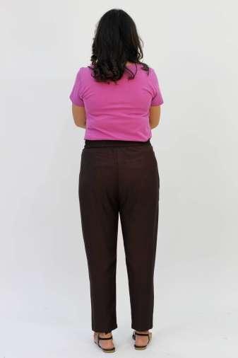 Brown Rayon Trouser4