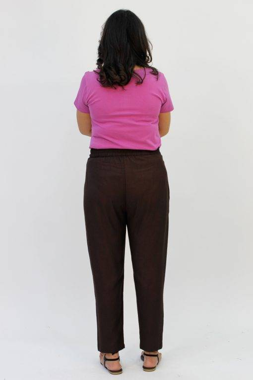 Brown Rayon Trouser4