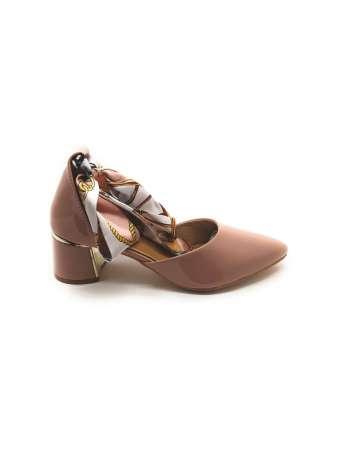 Ribbon Tie-Up Patent Block Heels3