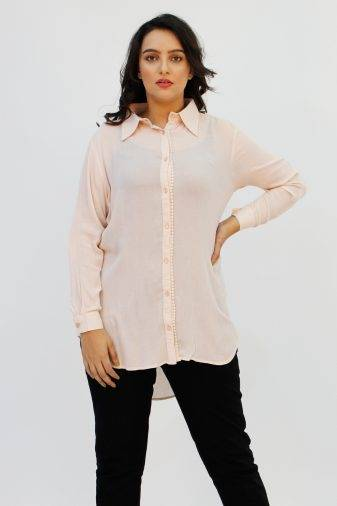 blush pink long shirt1