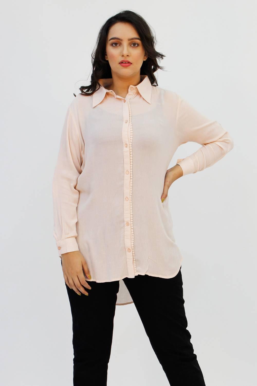 blush pink long shirt1