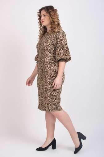 Leopard Print Shift Dress4