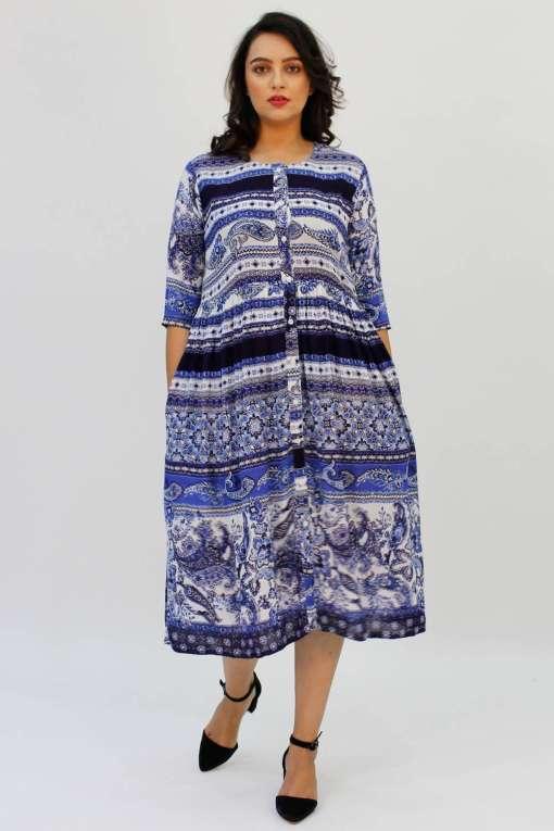 blue shirt dress2