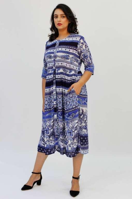 blue shirt dress3