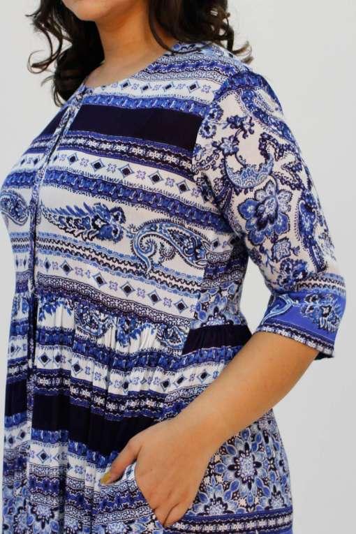blue shirt dress6