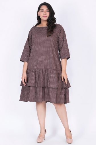 Middi length dress