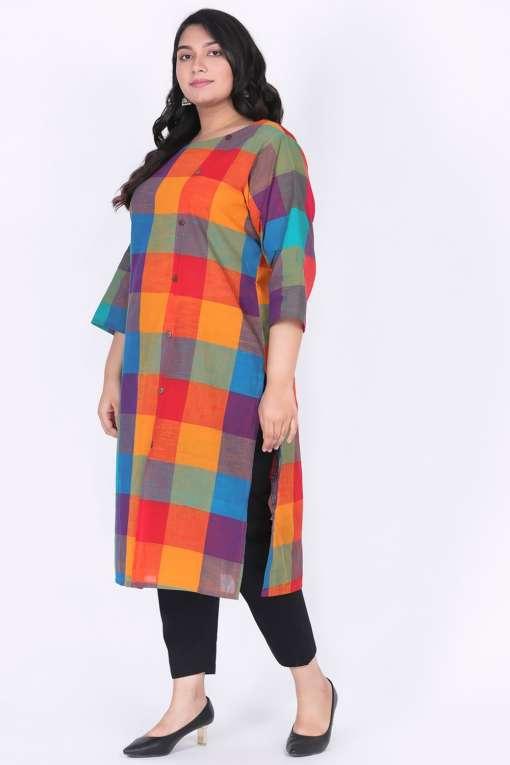 Plus Size ethnic wear