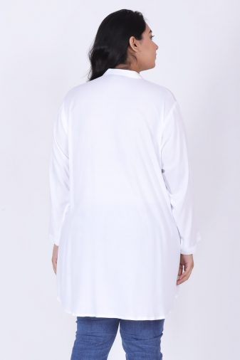 Plus Size embroidered Shirt