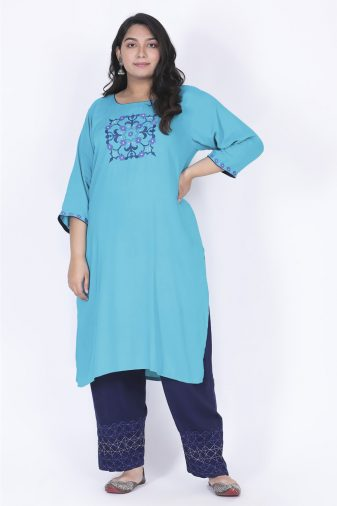 Plus Size kurta with pants