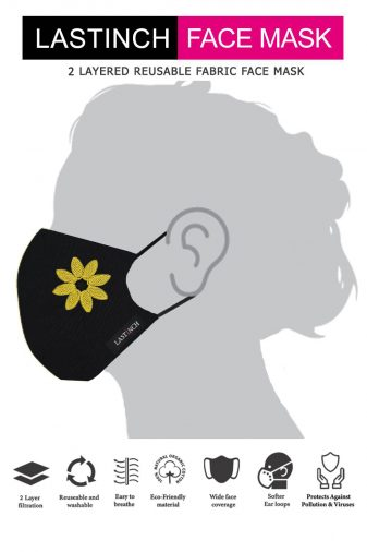 Just In Bloom Embroidered Face Mask