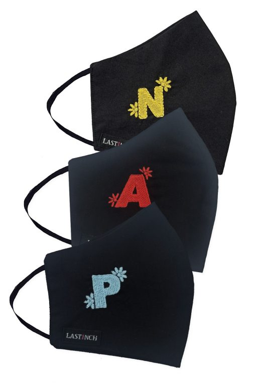 Personalised Embroidered Face Mask
