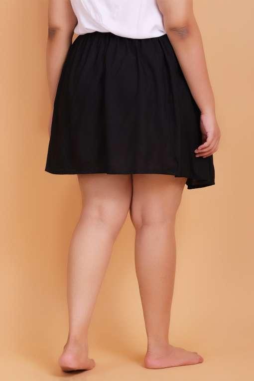 Plus Size knee length skirt
