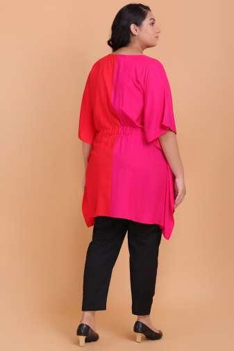 Plus Size Kaftan Tunic
